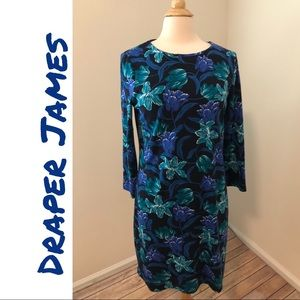 🆕 NWT Draper James Winter Floral Shift Dress